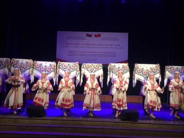 Nhà hát Vũ kịch Cộng hoà Belarus biểu diễn tại Lào Cai