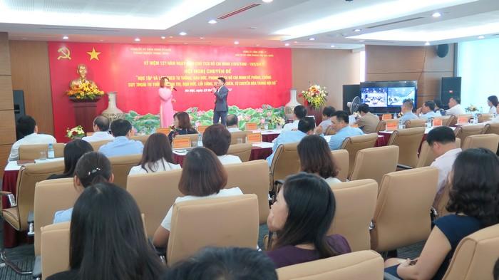 Hai Đảng ủy tổ chức học tập chuyên đề Chỉ thị 05