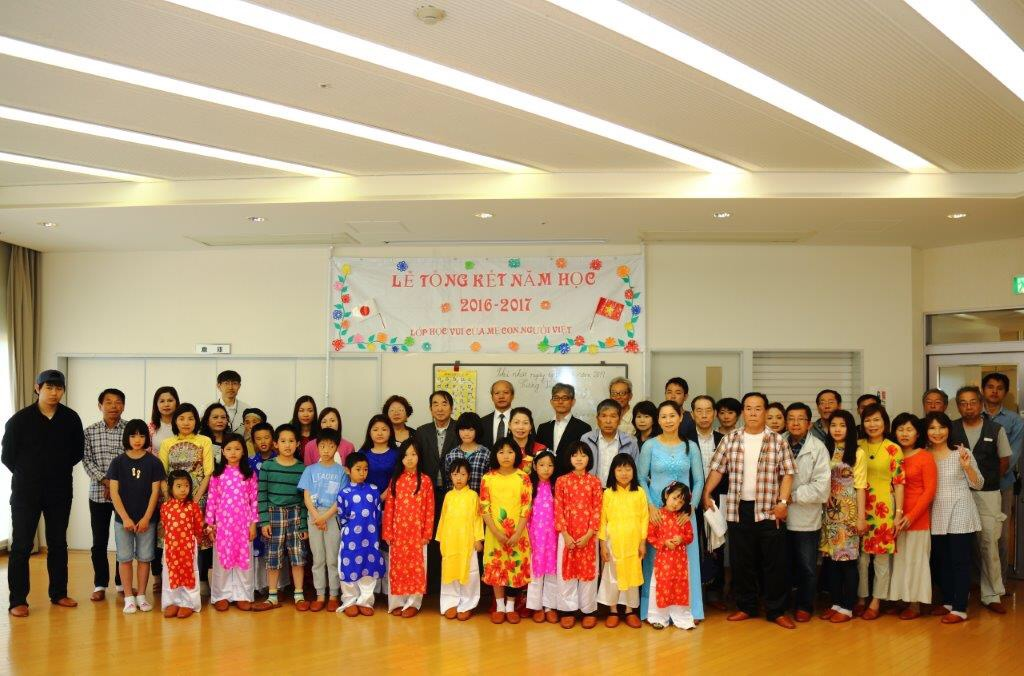 Tổng kết công tác dạy tiếng Việt cho người Việt Nam ở Kobe (Nhật Bản)