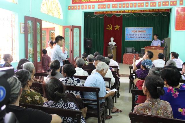 Người dân mong sớm được đối thoại với chính quyền huyện Tiên Du