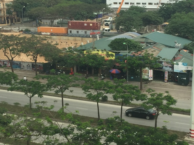 Hà Nội: Nhiều công trình xây dựng trái phép tại phường Mễ Trì