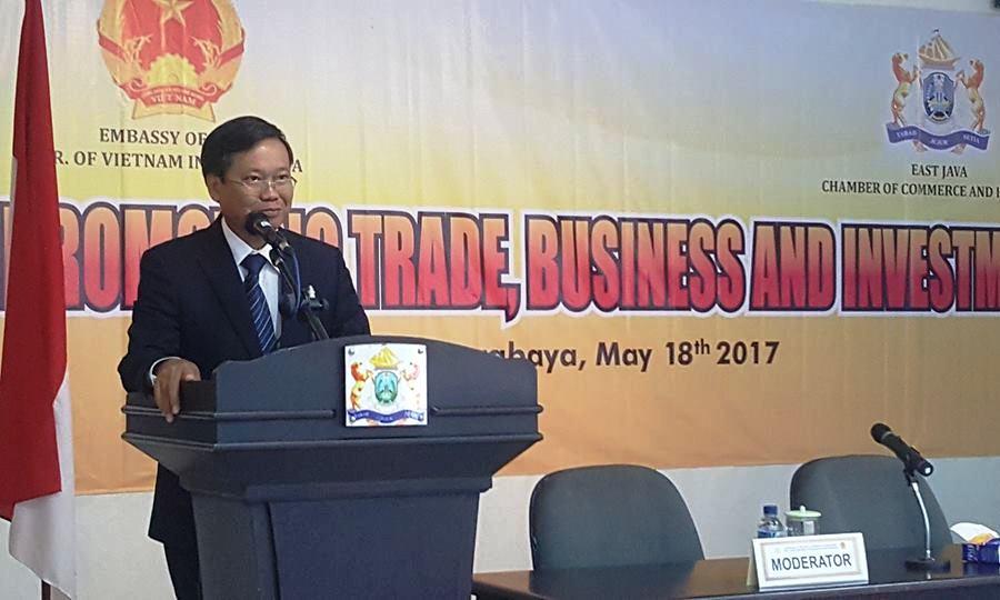 Tăng cường hoạt động đầu tư, thương mại giữa hai nước Việt Nam – Indonesia