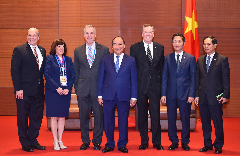 Hoa Kỳ luôn coi trọng việc phát triển hợp tác, kinh tế thương mại với Việt Nam