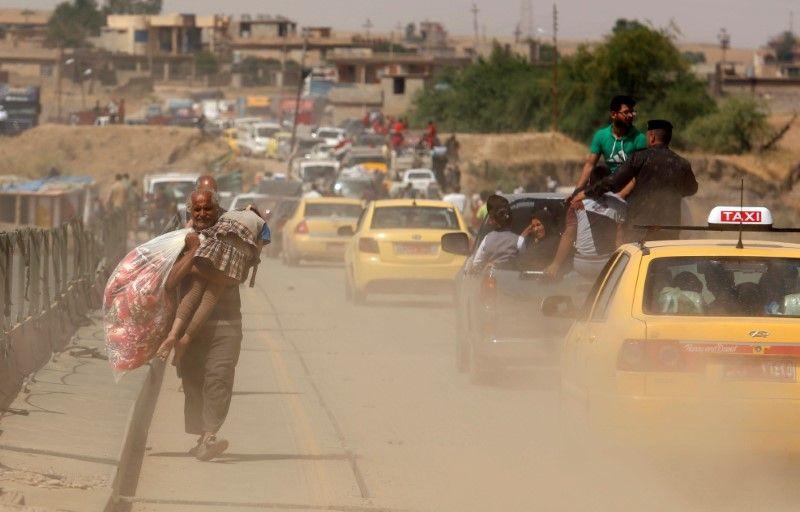 Iraq: Liên hợp quốc cảnh báo có thêm 200.000 người tị nạn chạy trốn khỏi Mosul