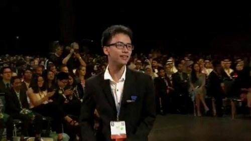 8 học sinh Việt Nam đều đạt giải tại Cuộc thi Intel Isef 2017