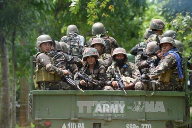 Philippines đẩy mạnh chiến dịch quân sự chống phiến quân Hồi giáo cực đoan tại Marawi