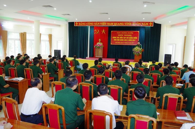 Hội nghị cộng tác viên Tạp chí Quân huấn khu vực Quân khu 3 năm 2017