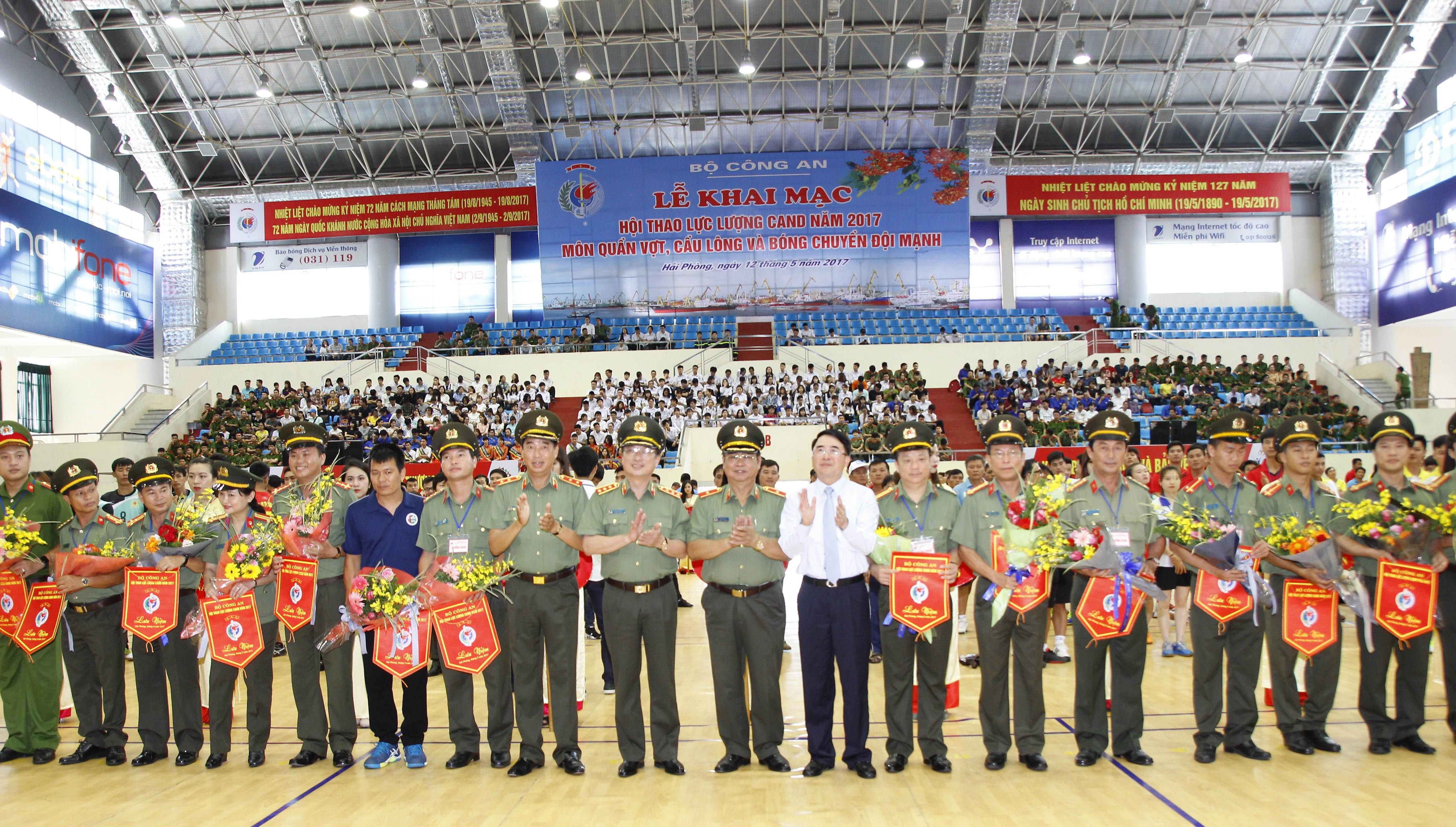 Hội thao lực lượng Công an nhân dân năm 2017