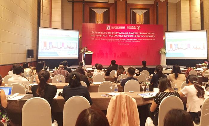 Xúc tiến thương mại, đầu tư Việt Nam – Thái Lan