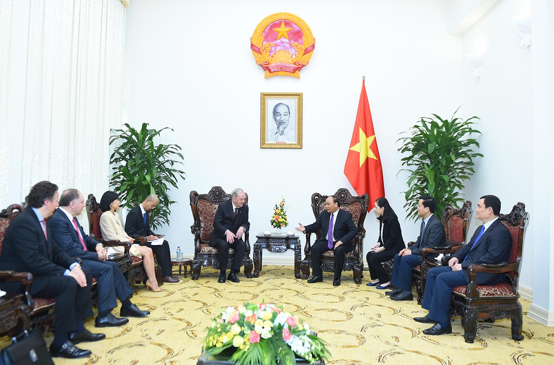 Tăng cường hơn nữa quan hệ hợp tác nhiều mặt giữa Việt Nam và Canada