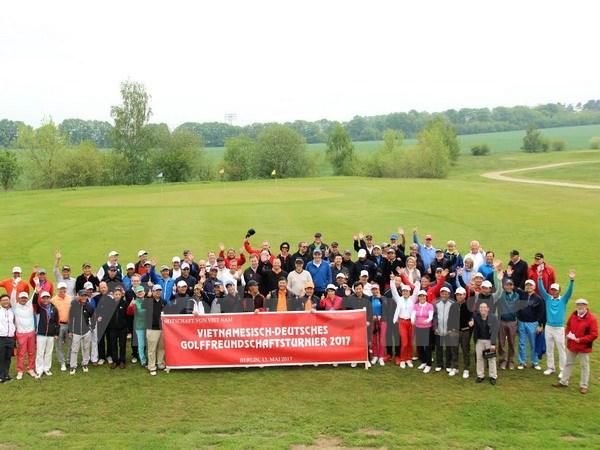 Gần 100 tay golf tranh tài tại Giải golf hữu nghị Đức - Việt 2017