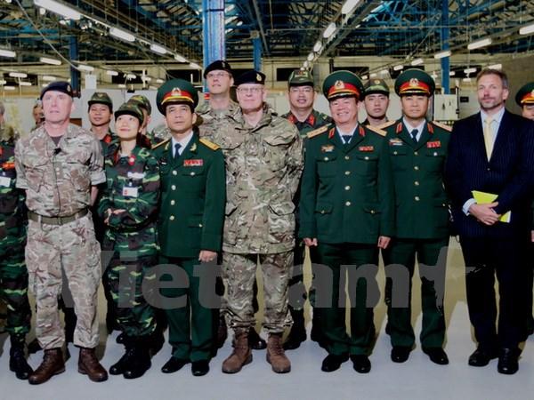 Việt Nam-Anh đẩy mạnh hợp tác trên lĩnh vực gìn giữ hòa bình