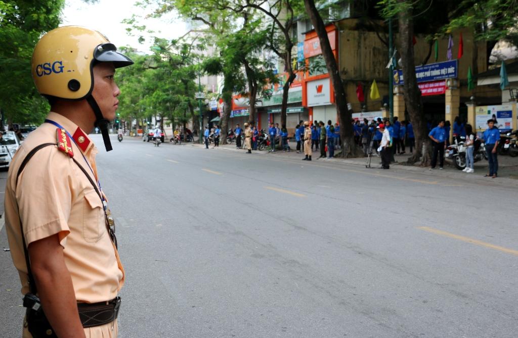 Hà Nội: Đảm bảo an toàn giao thông tại các điểm thi tốt nghiệp THPT quốc gia