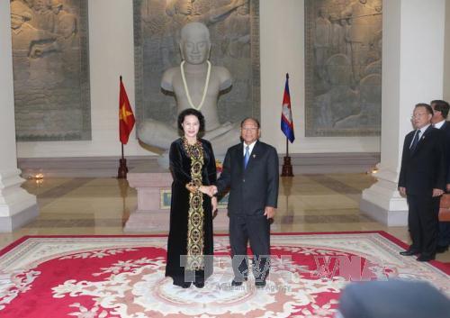 Việt Nam – Campuchia trao đổi Thư chúc mừng của lãnh đạo cấp cao hai nước