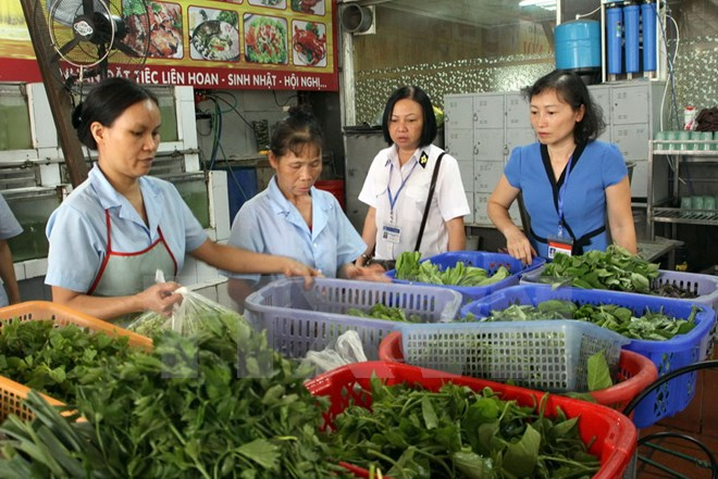 Vĩnh Phúc phát động phong trào thi đua đảm bảo vệ sinh an toàn thực phẩm
