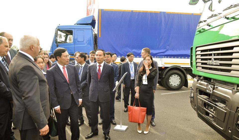 Hoạt động của Phó Thủ tướng, Phạm Bình Minh tại Cộng hòa Belarus