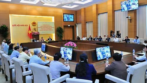 Ký Nghị quyết liên tịch quy định các hình thức giám sát, phản biện xã hội