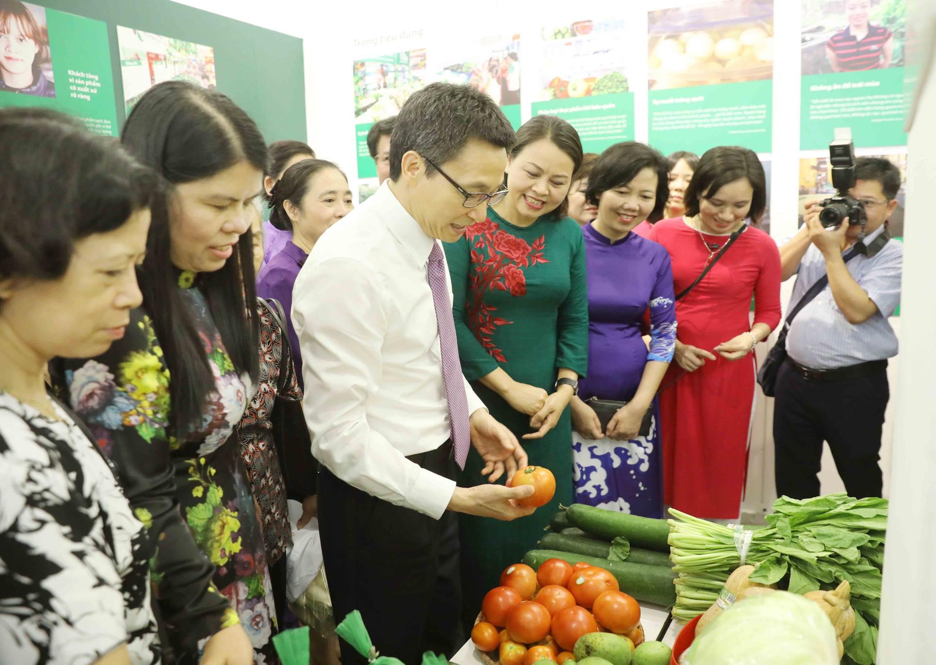 Phát huy vai trò của phụ nữ trong thực hiện an toàn vệ sinh thực phẩm