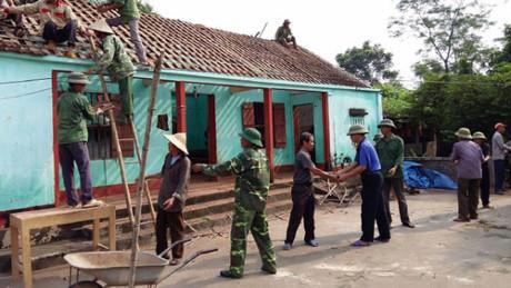 Tập trung xây mới, sửa chữa nhà ở cho người có công