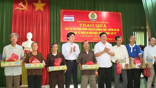 Hưng Yên triển khai các hoạt động kỷ niệm 70 năm Ngày Thương binh - Liệt sỹ