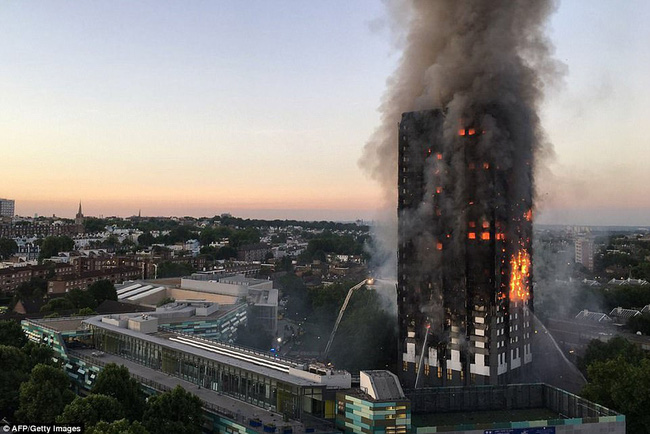 Chưa có thông tin người Việt Nam là nạn nhân sau vụ hỏa hoạn tại Anh