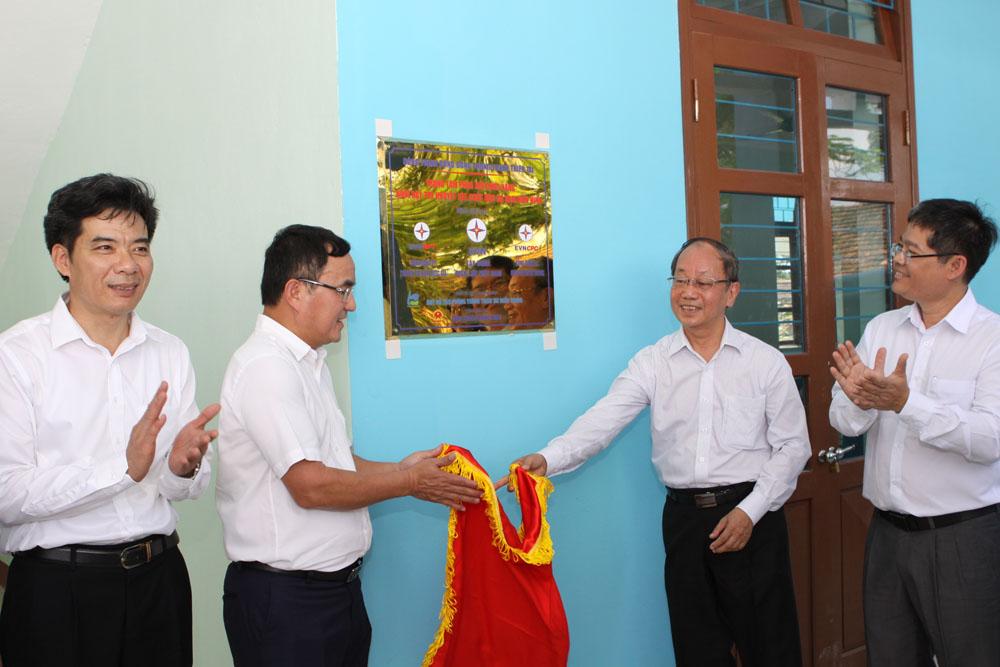 Khánh thành công trình cộng đồng phòng tránh thiên tai tại Quảng Bình