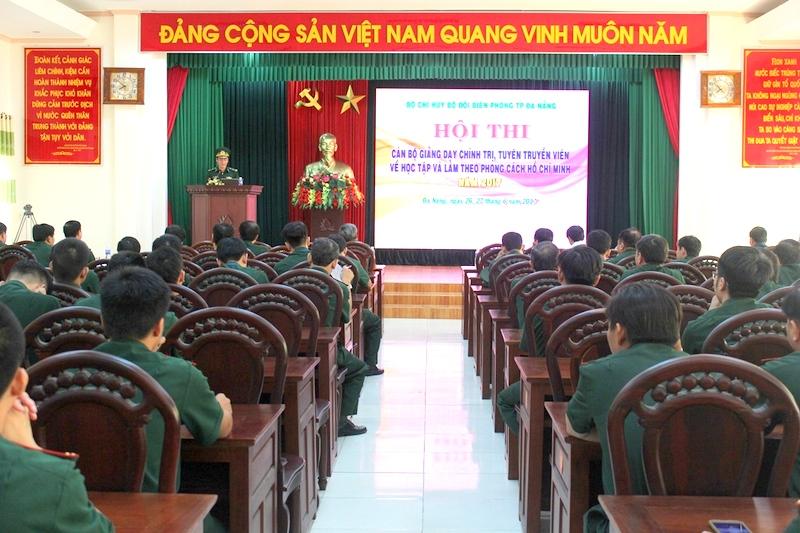 Bộ đội Biên phòng Đà Nẵng: Thi cán bộ chính trị, tuyên truyền viên giỏi năm 2017