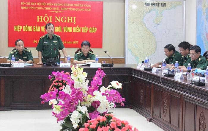 Biên phòng 3 tỉnh, thành phố phối hợp hiệp đồng bảo vệ biên giới, vùng biển tiếp giáp