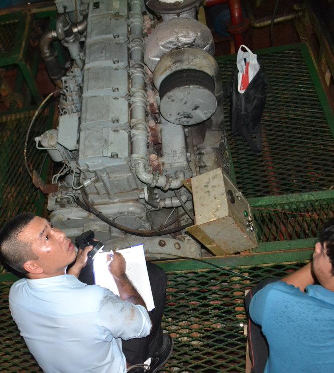 Thẩm định các tàu vỏ thép đóng mới theo Nghị định 67 bị hư hỏng