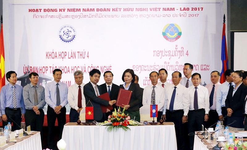 Hợp tác khoa học và công nghệ Việt – Lào hướng đến tầm cao mới