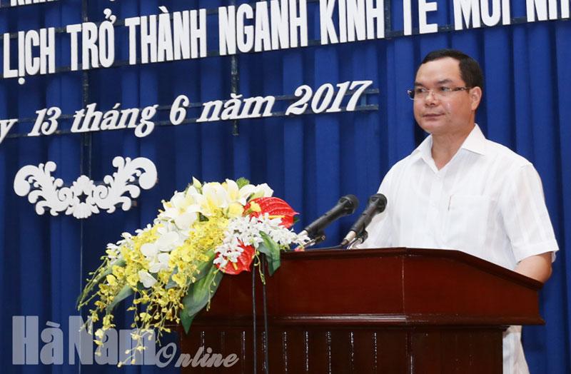 Hà Nam: Triển khai thực hiện Nghị quyết 08-NQ/TW của Bộ Chính trị về phát triển du lịch trở thành ngành kinh tế mũi nhọn