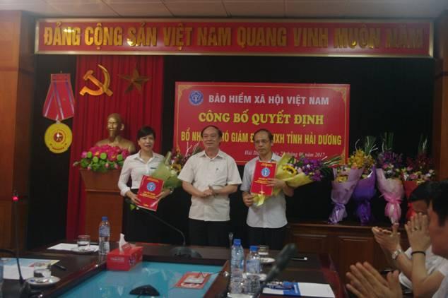 BHXH tỉnh Hải Dương: 2 Phó Giám đốc mới được bổ nhiệm