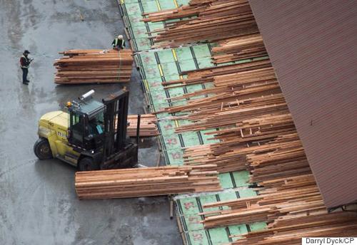 Mỹ siết chặt thuế chống phá giá đối với sản phẩm gỗ của Canada