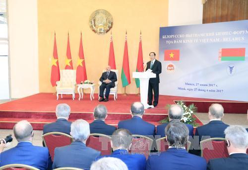 Tọa đàm Kinh tế Việt Nam - Belarus: Tăng cường liên kết trong chuỗi giá trị, cùng hợp tác sản xuất, xuất khẩu