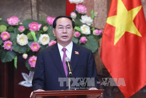Chủ tịch nước Trần Đại Quang trả lời phỏng vấn báo chí Nga trước thềm chuyến thăm chính thức