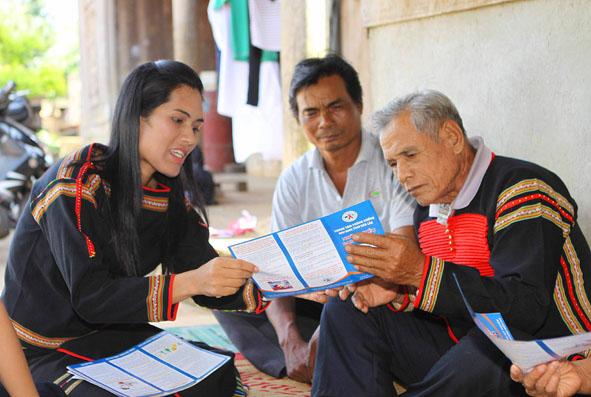 Ninh Thuận: Nâng cao nhận thức cho người có uy tín trong đồng bào dân tộc thiểu số