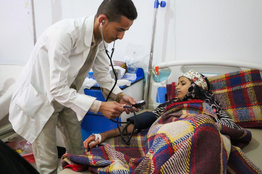 Dịch tả bùng phát dữ dội tại Yemen