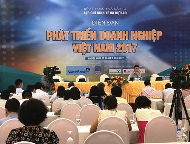 Diễn đàn Phát triển doanh nghiệp Việt Nam 2017