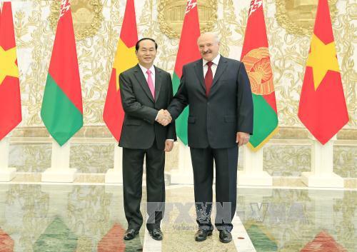 Tuyên bố chung Việt Nam - Belarus: Phát triển toàn diện và sâu rộng quan hệ đối tác Việt Nam - Belarus