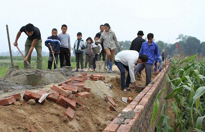 Thái Nguyên: 6 tháng, hơn 300 tỷ đồng đầu tư xây dựng nông thôn mới