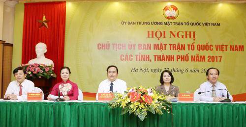 Mặt trận tăng cường phối hợp tổ chức Hội nghị đối thoại của người đứng đầu cấp ủy, chính quyền với nhân dân