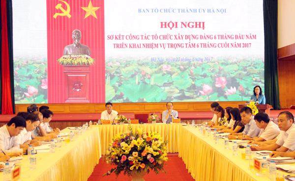Hà Nội: Khẩn trương kiện toàn các tổ chức cơ sở Đảng yếu kém
