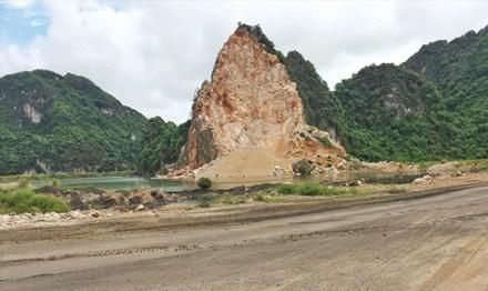 Yêu cầu tỉnh Quảng Ninh kiểm tra việc khai thác đá trên Vịnh Hạ Long