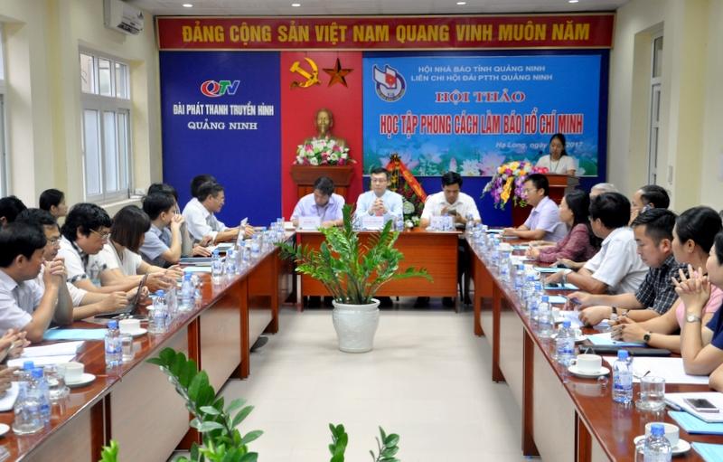 Quảng Ninh: Hội thảo Học tập phong cách làm báo Hồ Chí Minh