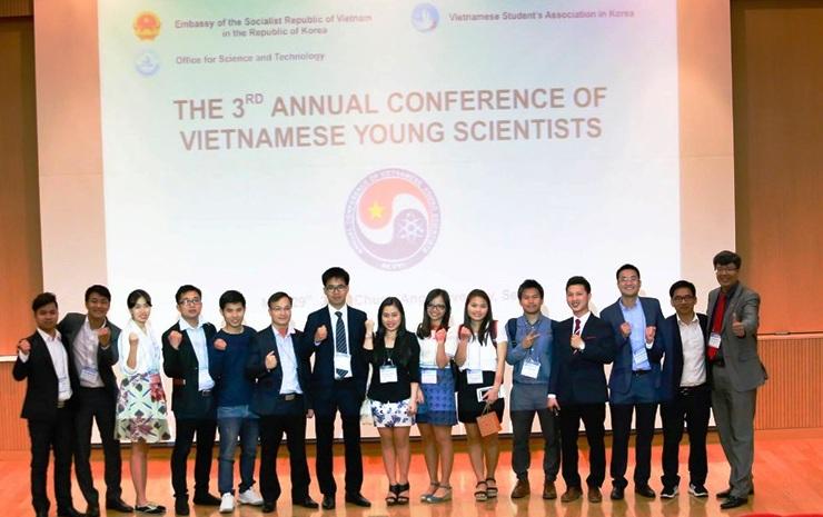 Hội thảo Khoa học trẻ Việt Nam năm 2017 tại Hàn Quốc