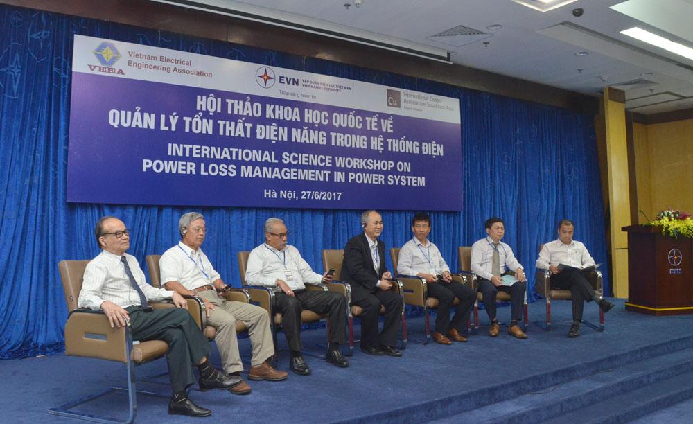 EVN phối hợp tổ chức Hội thảo quốc tế về quản lý tổn thất điện năng