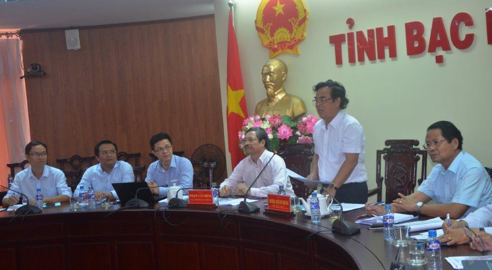 Cục Thú y làm việc với tỉnh Bạc Liêu về xây dựng vùng an toàn dịch bệnh tôm nuôi phục vụ xuất khẩu