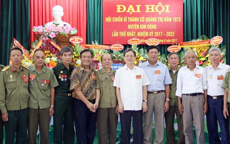 Đại hội Hội chiến sỹ Thành cổ Quảng Trị năm 1972 huyện Kim Động (Hưng Yên)