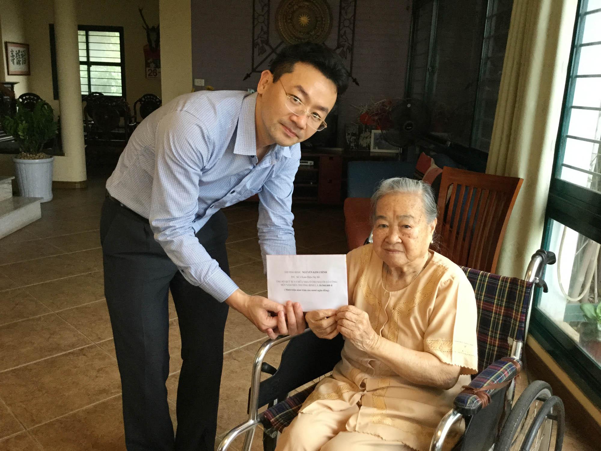 Cựu chiến binh nặng lòng với công tác từ thiện