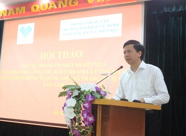 Việt Nam hướng tới dừng sử dụng chất amiăng vào năm 2020